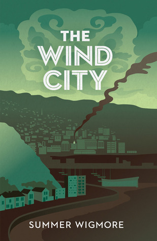 cover of The Wind City depicts Wellington in green tones